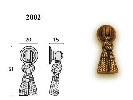 Мебельные ручки REI «2002»