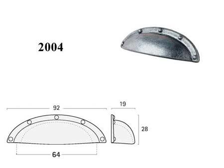 Мебельные ручки REI «2004»