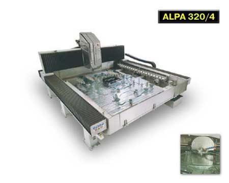 машины для криволинейой обработки «ALPA 320/4»