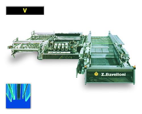 Машины для торцевания стекла «V»