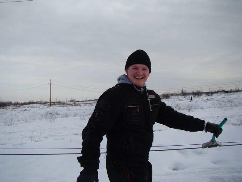10  Лыжная трасса в Мариуполе 2010.01.31