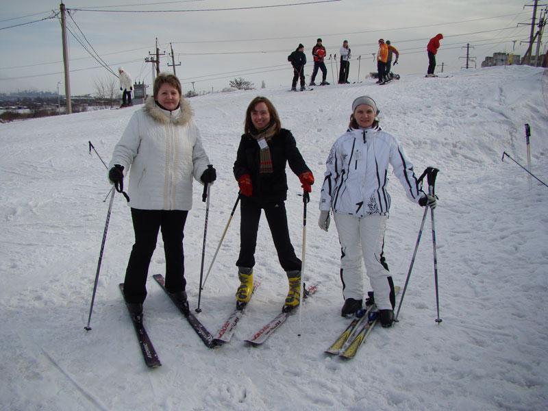 1  Лыжная трасса в Мариуполе 2010.01.31