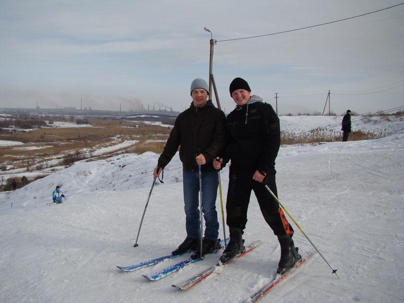 2  Лыжная трасса в Мариуполе 2010.01.31