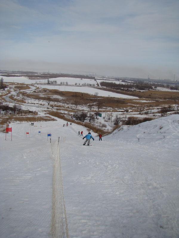 3  Лыжная трасса в Мариуполе 2010.01.31