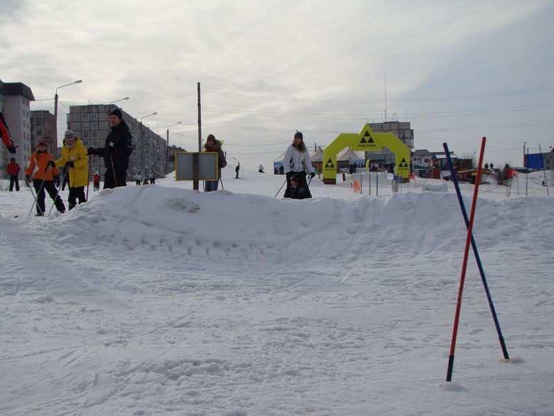 4  Лыжная трасса в Мариуполе 2010.01.31