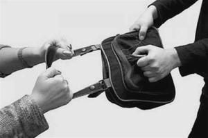С сумкой наперевес. Патрульные задержали грабителя через десять минут после преступления