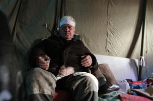 Хроника одной голодовки. В Донецке решают, кто возьмет на себя ответственность за смерть шахтера