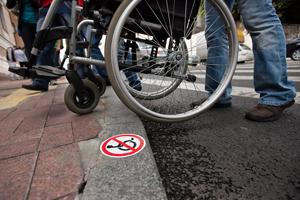 Такси с коляской. В Донецке появится транспорт для инвалидов