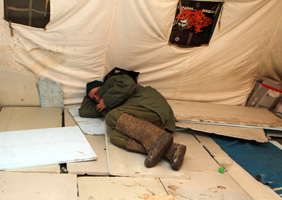 Крылья сложили палатки. Чернобыльцы свернули акцию протеста