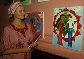 Индия в центре Донецка